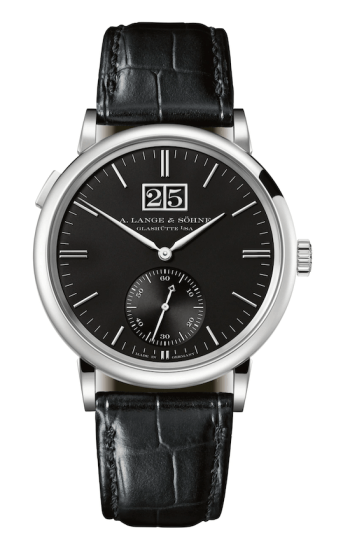 Entry level top brand watches: A. Lange & Sohne Saxonia Outsize Date