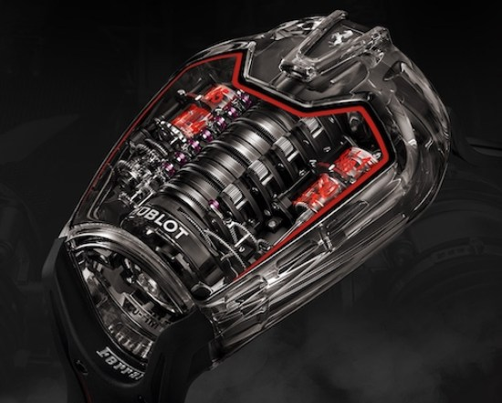 When it comes to Ford vs. Ferrari watches, it's Hublot LaFerrari watch for the win