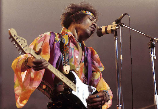Jimi Hendrix, inspiration for .Raymond Weil Jimi Hendrix Limited Edition watch