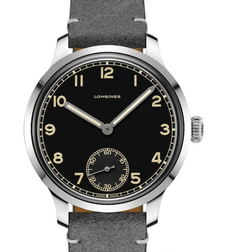 Longines Heritage Military 1938 re-issue