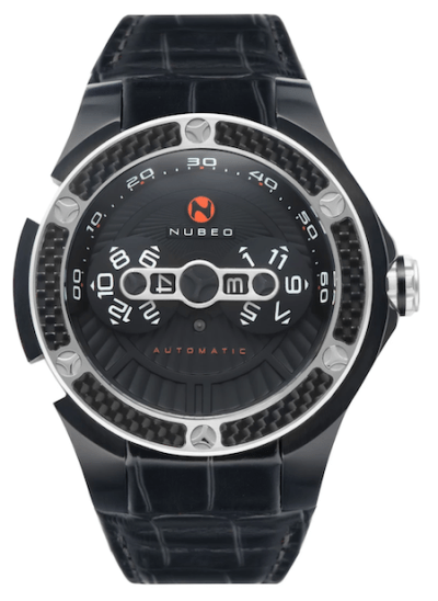 Nubeo Satellite Automatic Pioneer Black (courtesy watches.com)