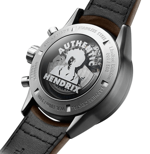 Authetic Jimi Hendrix tribute watch. Says so right there.