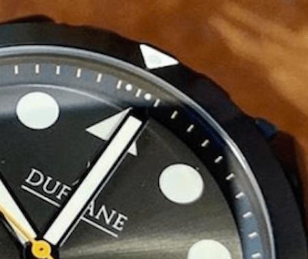Dufrane Diver bezel