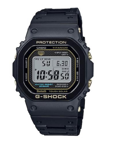 Casio G-Shock Men's GMW-B5000TB-1ER FULL-METAL TITANIUM