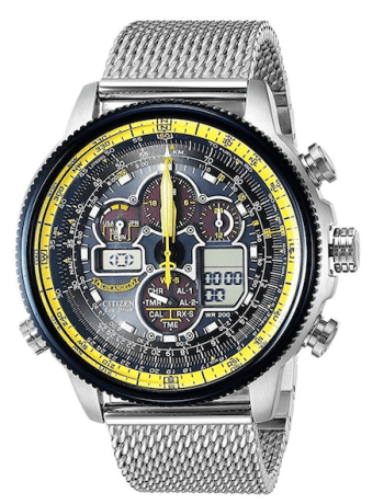 Citizen Promaster Navihawk A-T Eco-Drive GMT- because life isn't complicated enough