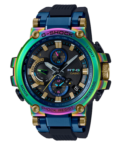 Expensive G-SHOCKs: the Rainbow MT-G