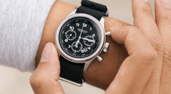 Gear Patrol selection - Centric Lightwell Chronograph