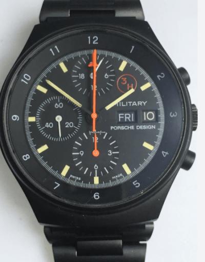 Military Orfina Porsche Design Chronograph