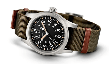 One of the best watch brands under $1000 - Hamilton and their field watches