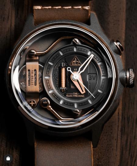 The Electricianz The Mokaz watch
