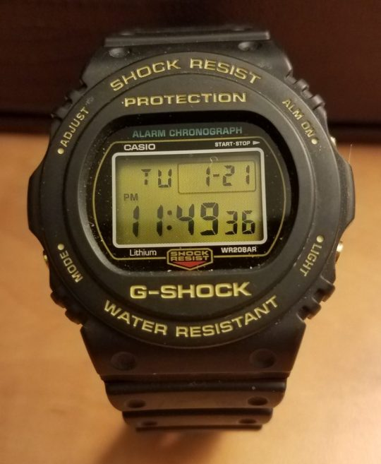 G-SHOCK Aniiversary Models: the DW-5735D-1BJR