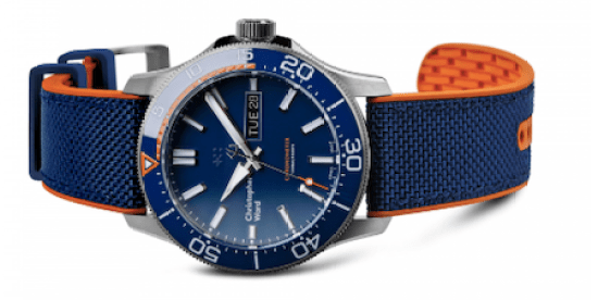 Christoper Ward titanium dive watch