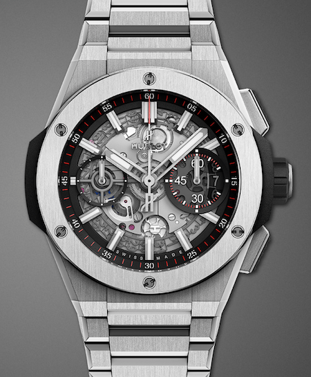 Hublot Big Bang integrated bracelet titanium