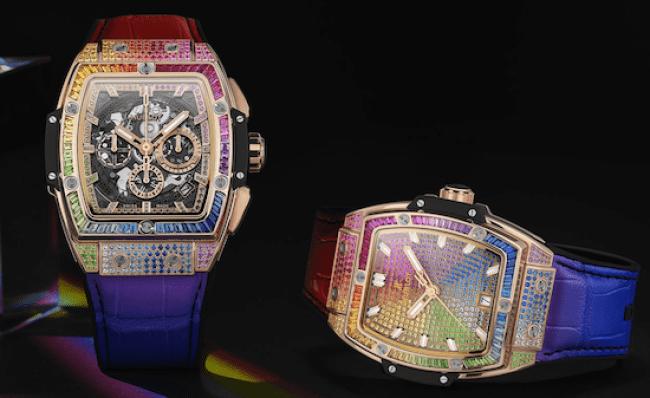 Hublot Spirt of Big Bang Rainbow watch