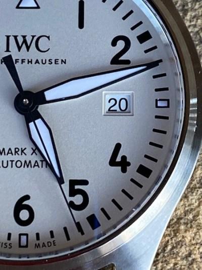 IWC MKXVIII close up