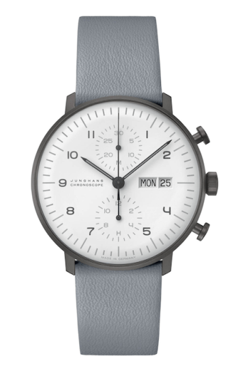 Junghans max bill Chrono standing proud