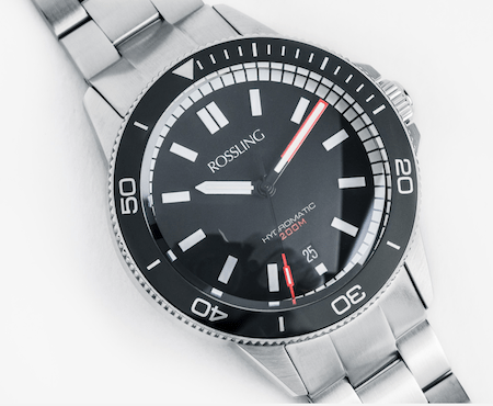 New watch alert - Rossling HYDROMATIC C.01