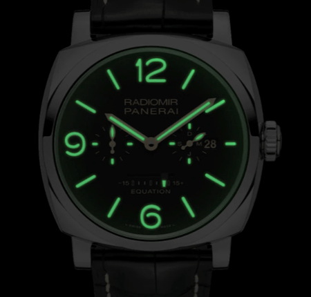 New watch alert - lume shot Panerai Equation of Time