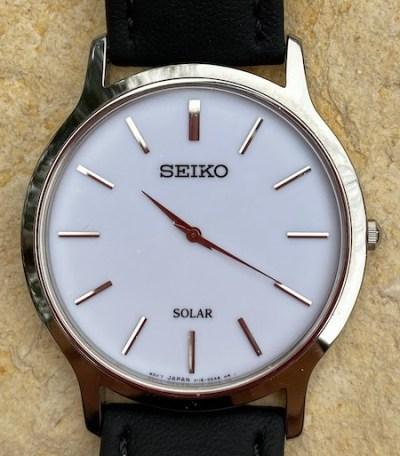 Seiko Solar close-up