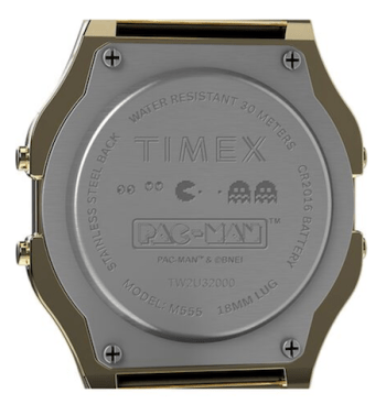 Timex Pac-Man caseback