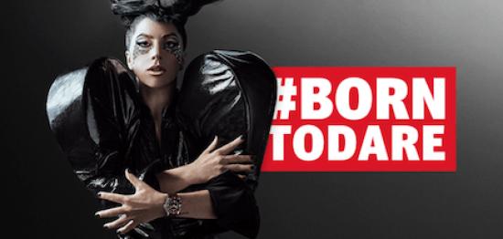 Tudor branding Lady Gaga