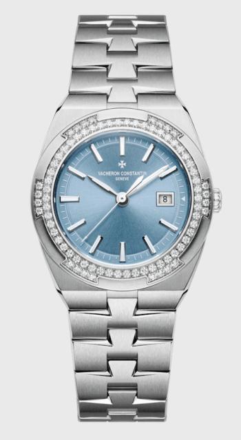 VC quartz blue dial