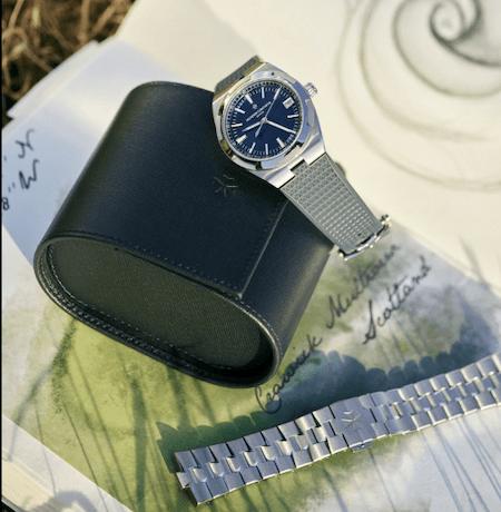 Vacheron Constantin Overseas on rubber strap