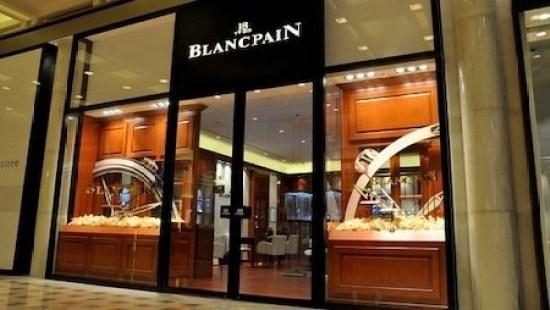 Blancpain faces the Singapore coronavirus outbreak