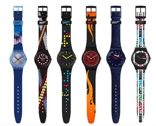 New watch alert! Bond Swatches