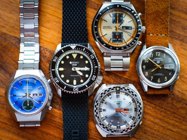 Seiko 5 Sports SRPD95 and friends