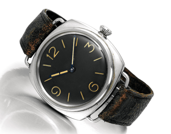 Panerai 3646 Type D with Rolex brand parts (courtesy perezcope.com)