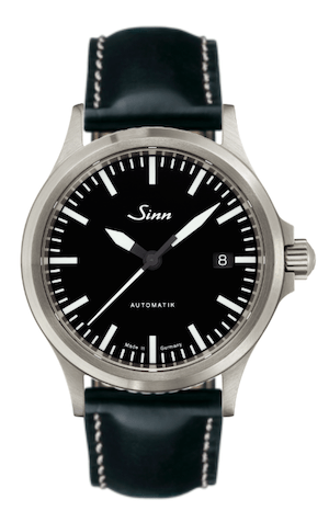 Sinn 556i on a leather strap