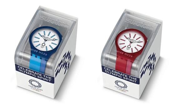 Swatch BB AI Blue and BB Kurenai Red