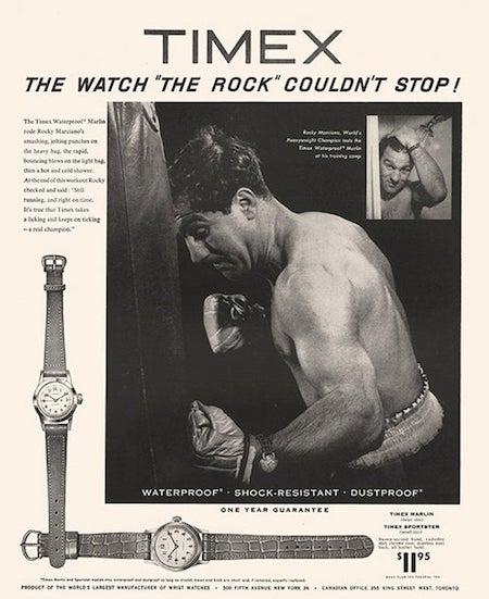 Vintage Timex ad