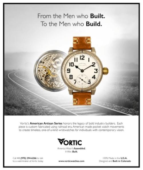 Swatch lawsuit against Vortic - Exhibit A