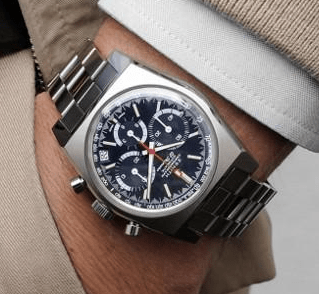 Zenith A3818 Chronomaster Revival LE on wrist