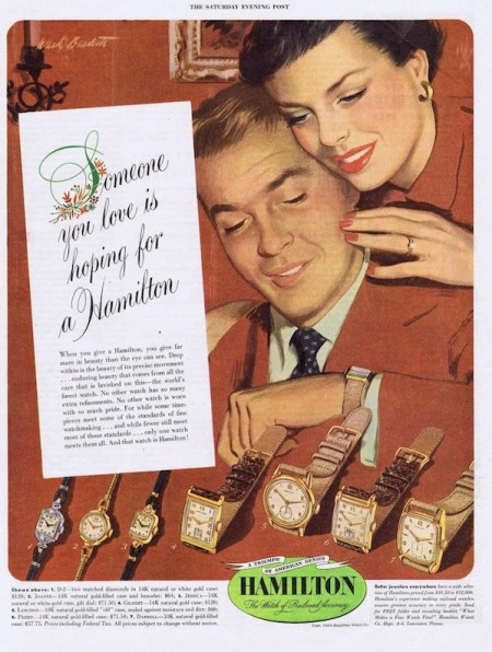 Vintage Hamilton ad