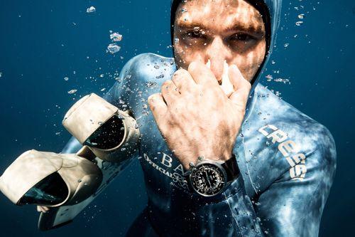 Ball watch underwater