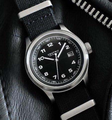 Centric solar watch