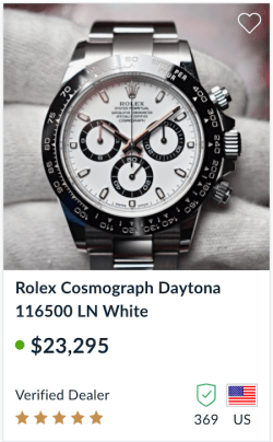 Coronavirus Watch - Rolex Daytona