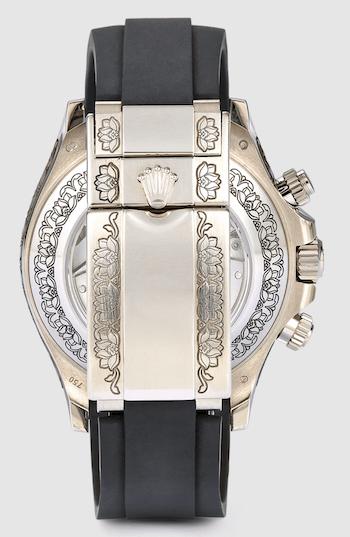 MAD Paris Floral-Engraved Rolex Daytona caseback