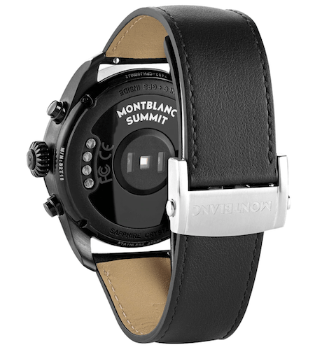New watch alert! Montblanc Summit 2+ caseback