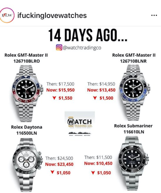 Price drops (courtesy ifuckinglovewatches.com)