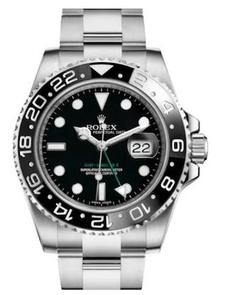 Rolex GMT on Oyster bracelet