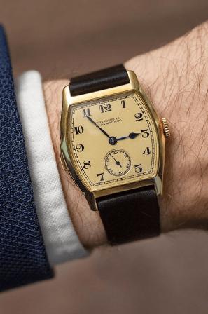 Stephen J. Pulvirent watch (courtesy instagram)