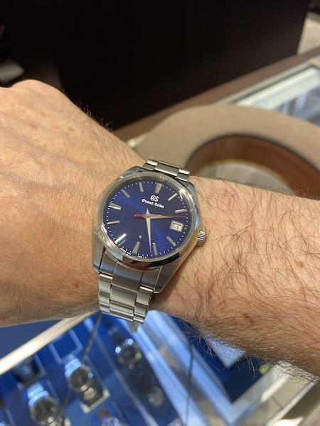 Time to buy watch? Grand Seiko quartz anniversary