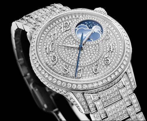 Vacheron Constantin Égérie Moon Phase Jewellery 500