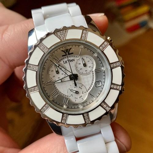 Joe Exotic's watch close up