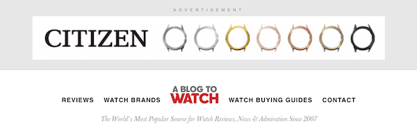 A Blog to Watch