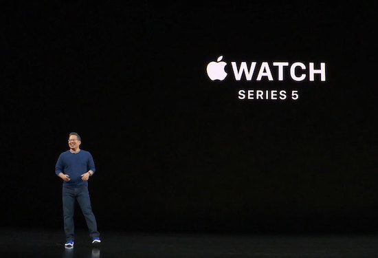 Apple Watch Series 5 (courtesy fortune.com)
